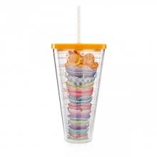 Garfield - Copo com Canudo 1 Litro