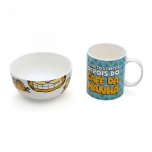 Garfield - Kit Caneca + Tigela