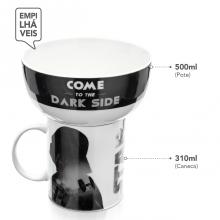Darth Vader - Kit Caneca e Tigela