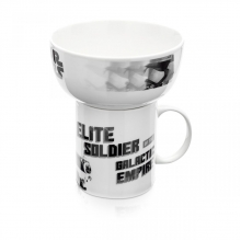 Stormtrooper - Kit Caneca e Tigela Star Wars