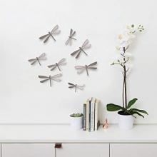 Wallflutter - Conjunto Decorativo Libélulas 8 peças