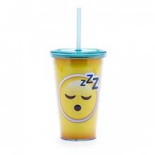 Emoji Sono - Copo com Canudo