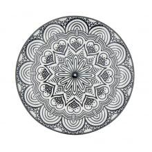 Mandala - Prato Decorativo