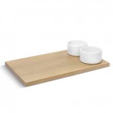 Savore - Kit Petisco - Tábua para Pães + Potes para patês/ Condimentos