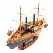 Barco Mississípi - Réplica Miniatura