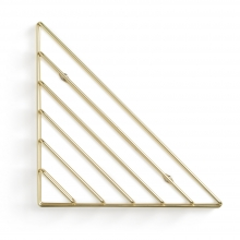 Strum - Prateleira Geométrica Aramada