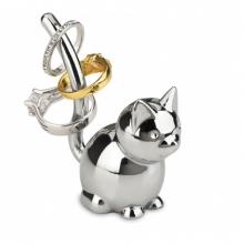 Gato - Porta Anel Zoola Cromado