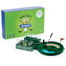 Jogo Mini Golf com Drinks