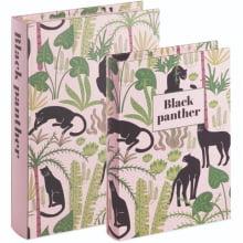 Black Panther - Kit com 2 Caixas Organizadoras