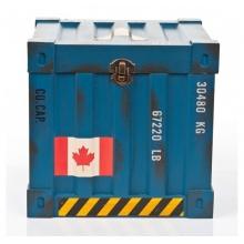 Caixa Container Azul- Organizadores