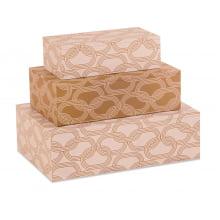 Corrente - Kit c/ 3 Caixas Organizadoras P, M, G
