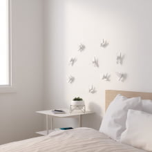 Beija-Flor - Conjunto Decorativo 3D de Parede (9 peças)