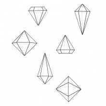 Prisma - Conjunto Decorativo 3D