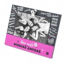 Clipes - Amo Muito Amigas - Porta Retrato