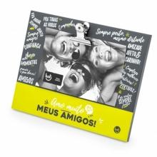 Clipes - Amo Muito Amigos - Porta Retrato
