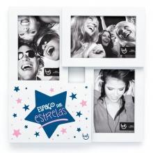 Estrelas - Porta Retrato Triplo