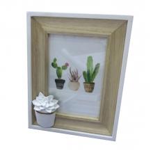 Cactus Flower - Porta Retrato de Mesa