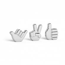 Hands Up - Porta Retrato de Mesa Conjunto 3 peças
