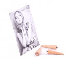 Mínimo - Kit com 4 Porta Retratos Minimalistas Com Imã