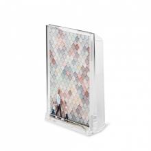 Optic 2 em 1 - Porta Retrato de Mesa com Vaso