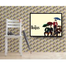 The Beatles Umbrella - Poster com Moldura