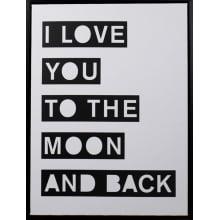 To The Moon - Quadro Decorativo Moderno