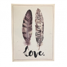 Love Feathers - Quadros