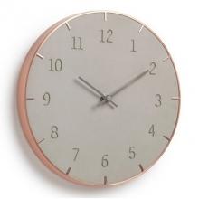 Piatto - Concreto + Cobre - Relógio de Parede