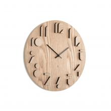 Shadow - Relógio Minimalista de Parede em Madeira