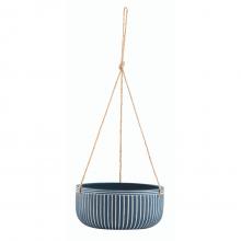 Linhas Retas - Kit com 2 Vasos pendentes Em Cimento (P+G)