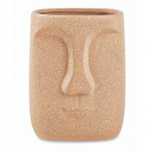 Rosto Quadrado - Vasinho em Porcelana