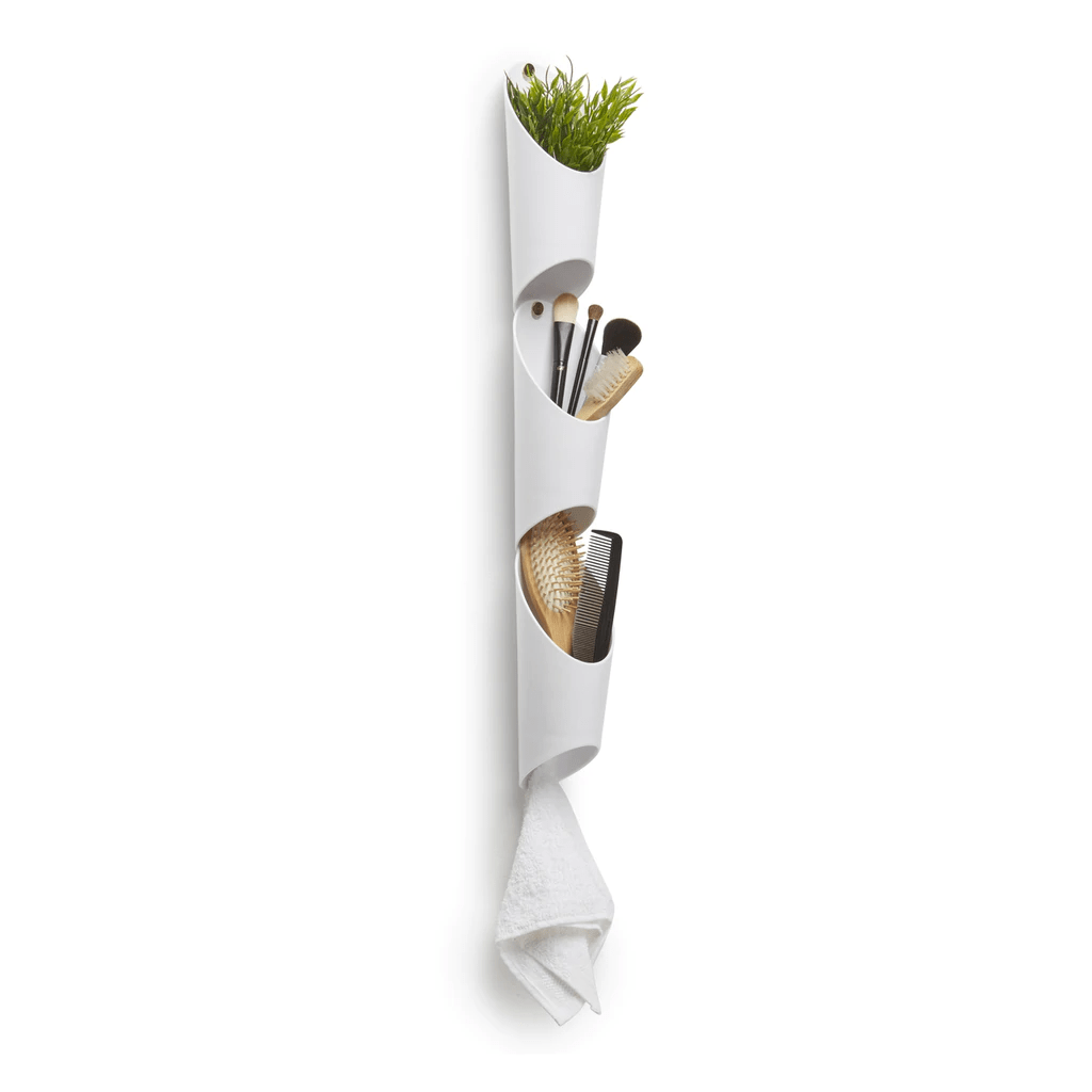Floralink - Kit com 3 Vasos Decorativos / Organizadores de Parede