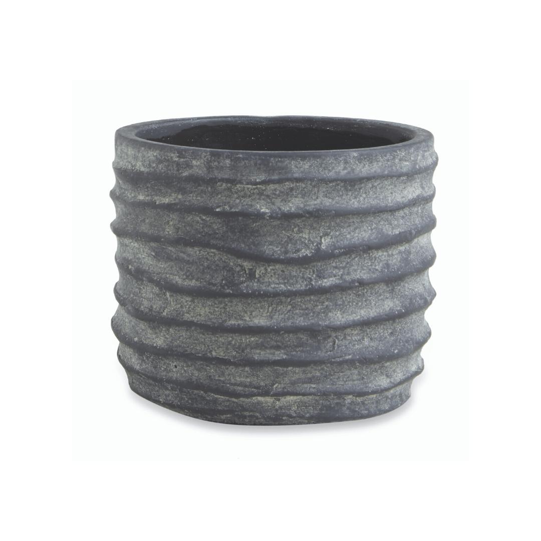 Ondas - Vaso em Cimento - Tamanho P